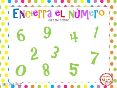Librito para practicar los números del 1 al 9 (34)