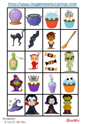 Lotería-Bingo de HALLOWEEN (11)