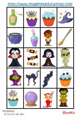 Lotería-Bingo de HALLOWEEN (12)