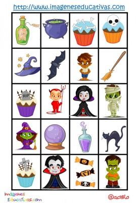 Lotería-Bingo de HALLOWEEN (9)