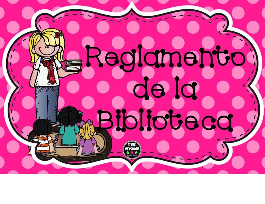 Reglamento De La Biblioteca De Aula En Tarjetas Imprimibles