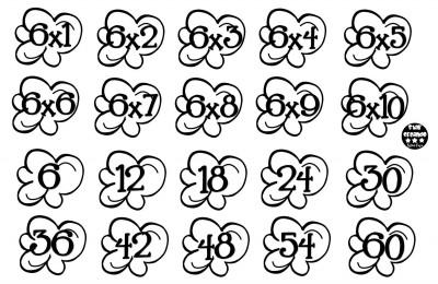Tablas de multiplicar juego palomitas ByN (5)