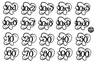 Tablas de multiplicar juego palomitas ByN (9)