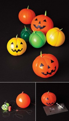 "ideas para decorar con globos para niños ""Halloween"" (11)"