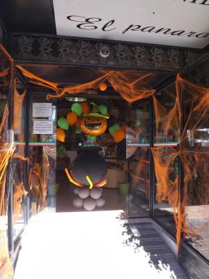 "ideas para decorar con globos para niños ""Halloween"" (23)"
