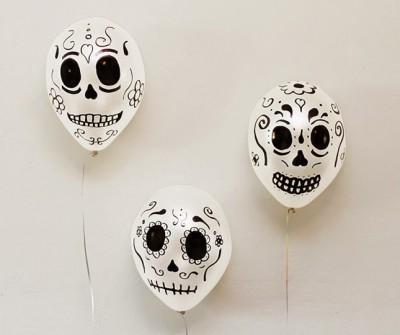 "ideas para decorar con globos para niños ""Halloween"" (6)"