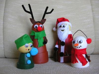 Adornos navidad reciclados 2015 (3)