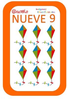 Cartas juguetes números (9)