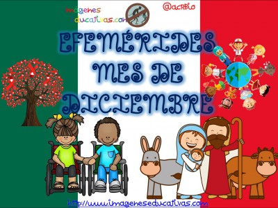 Efemérides Mes de Diciembre Fondo Mexico (1)