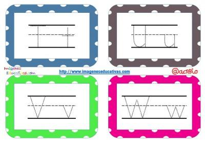Librito de trazos formato llavero Mestra KG Primary Dots Lined (6)