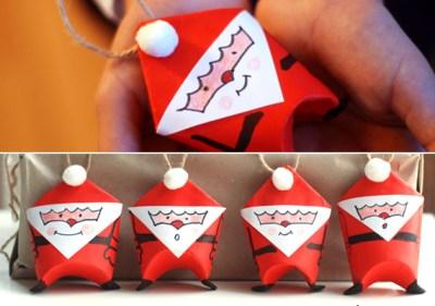 Manualidades navidad rollos papel (8)