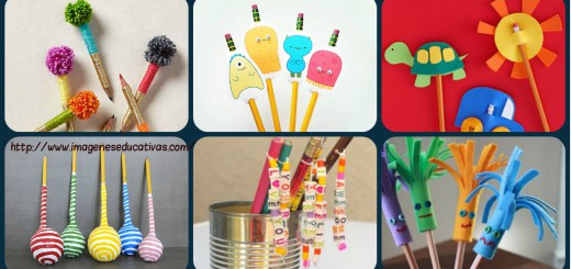 Adornos para lápices Diy Portada