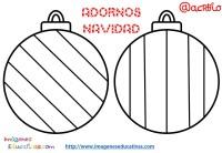 Bolas de navidad colorear (14) - Imagenes Educativas