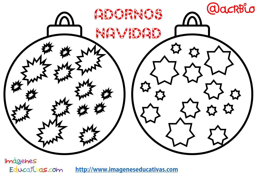 Bolas de navidad colorear (9)