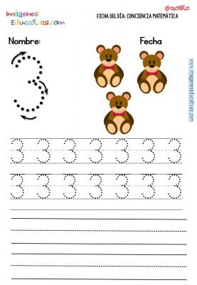 Fichas para trabajar los números (12)