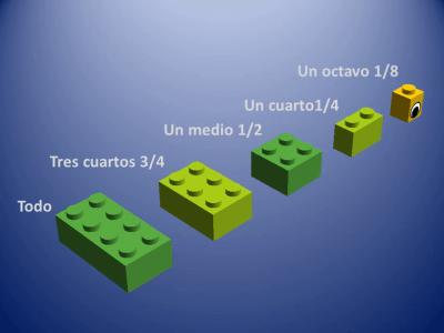 Fracciones con piezas de Lego (12)