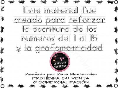 Grafomotricidad números (6)