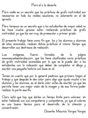 Librito para practicas Caligrafía y Redacción (2)