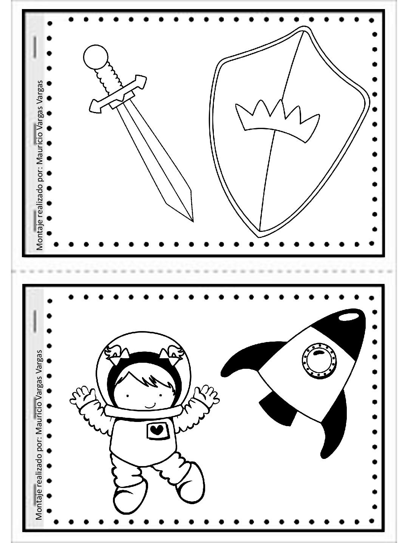 Mi pequeño gran libro para colorear y dibujar (4) - Imagenes Educativas