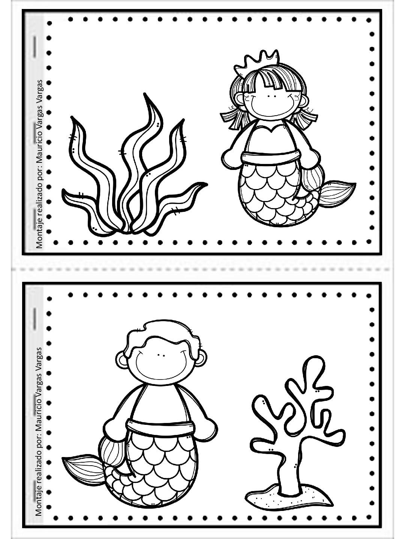Mi pequeño gran libro para colorear y dibujar (8) - Imagenes Educativas