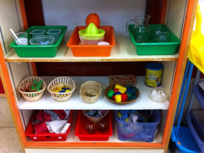 Montessori área Sensorial 3