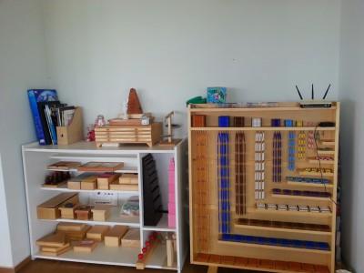 Montessori área Sensorial 4