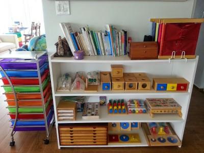 Montessori área Sensorial 5