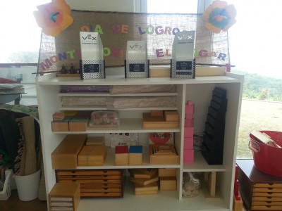 Montessori área Sensorial 6