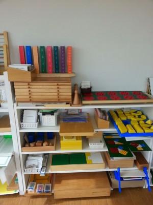 Montessori áreas del Matemáticas 6