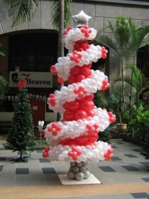 Navidad Globos decoracion (1)