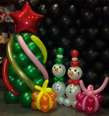 Navidad Globos decoracion (10)