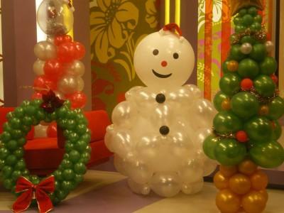 Navidad Globos decoracion (16)
