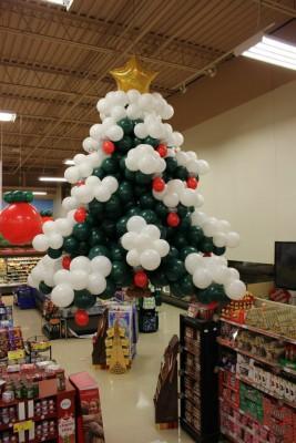 Navidad Globos decoracion (4)