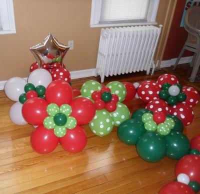 Navidad Globos decoracion (7)