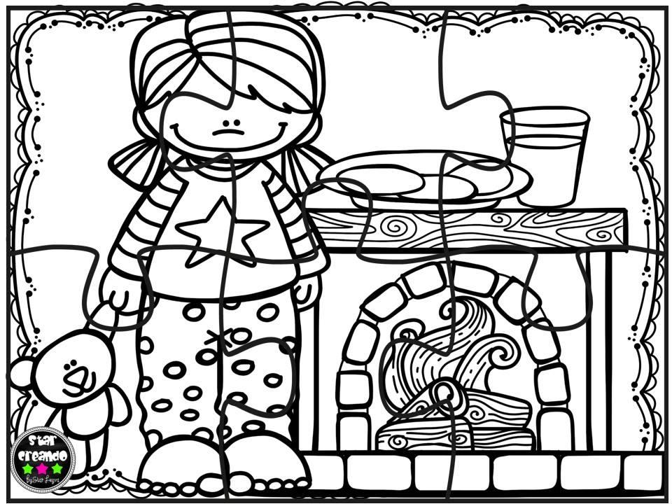 Jugar Para Colorear: Puzzles Navidad Para Colorear (6)