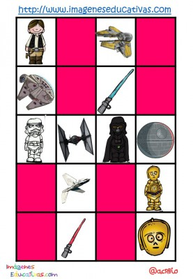 STAR WARS BINGO (5)