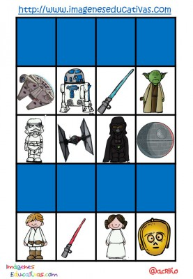 STAR WARS BINGO (9)