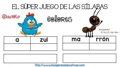 Super juego practicamos la descomposición en sílabas (1)