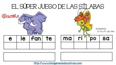Super juego practicamos la descomposición en sílabas (15)