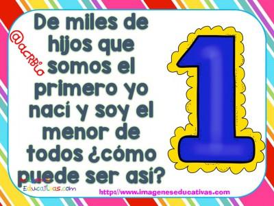 Adivinanzas de números (2)