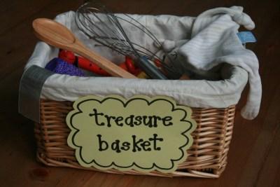 Caja de los tesoros Montessori 1