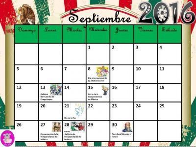 Calendario 2016 con efemérides incluidas. Listo para descargar e imprimir (9)