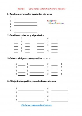 Ejercicios múltiples con números enteros (21)