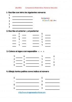 Ejercicios múltiples con números enteros (9)