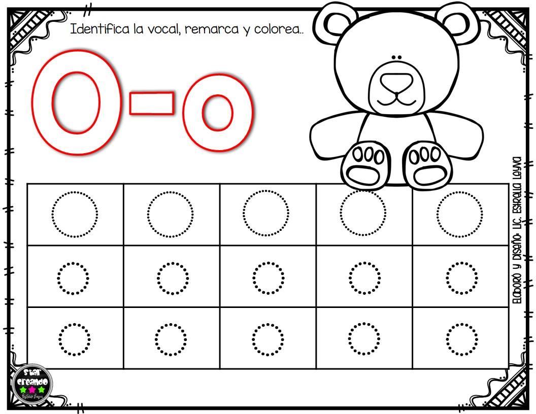 Fichas vocales (8) - Imagenes Educativas