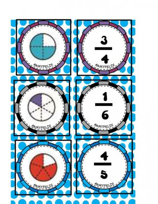 Memorama de Fracciones (3)