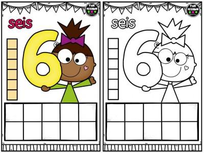 Repasamos los números y nos divertimos coloreando (7)