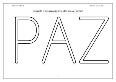 Super Cuaderno Día de la Paz y la No Violencia grafo y colorear (5)