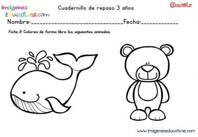 Cuadernillo complementario para 3 años, Educación Preescolar  (11)