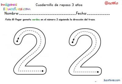 Cuadernillo complementario para 3 años, Educación Preescolar  (16)